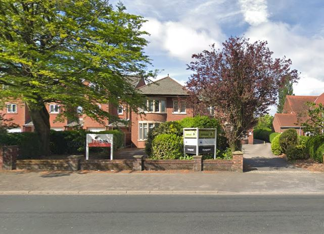 The current offices and access in Garstang Road Pic: Google