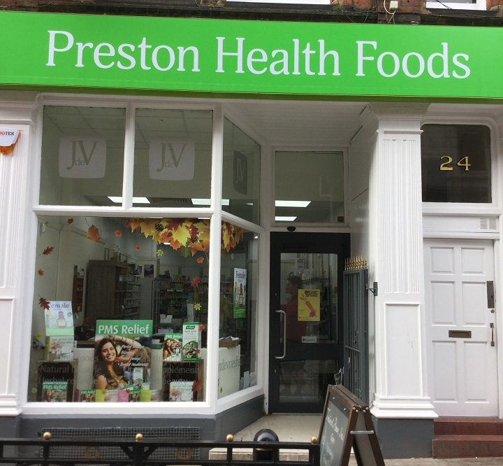 Preston Health Foods has seen a lick of paint