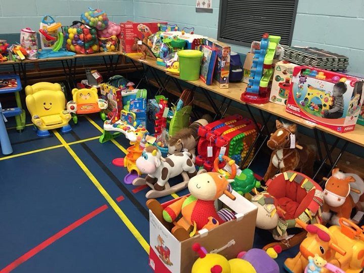 Toys at the nearly new sale