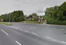 Lower Lane is where the collision took place, as it joins Preston New Road Pic: Google