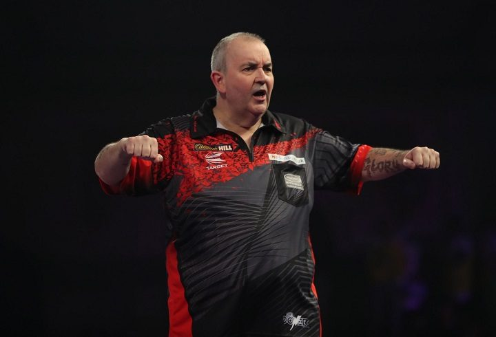 Phil 'The Power' Taylor will make of his last competitive appearances