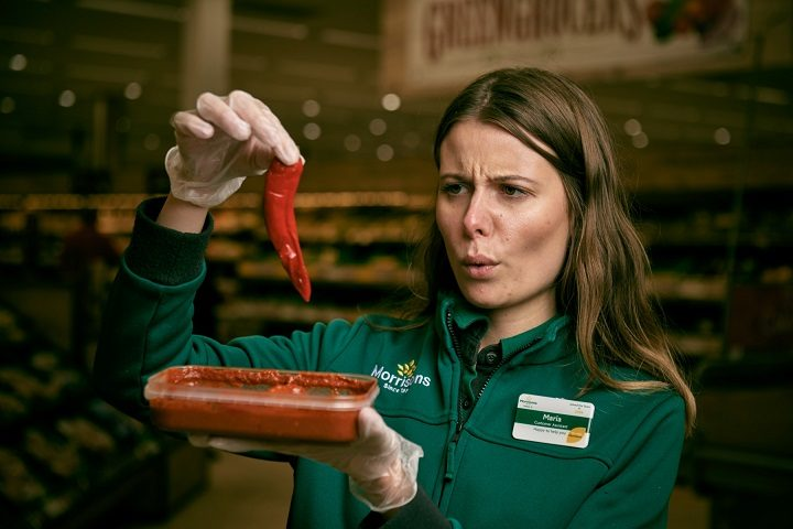 It's rated as eight on the Scoville scale, terrifying! Pic: Morrisons