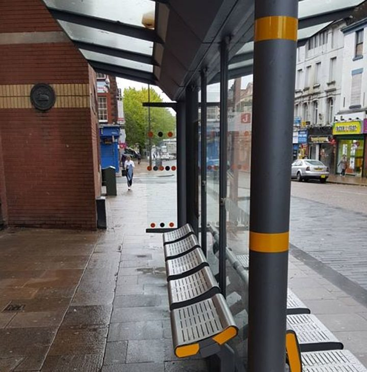 Bus shelter in Church Street