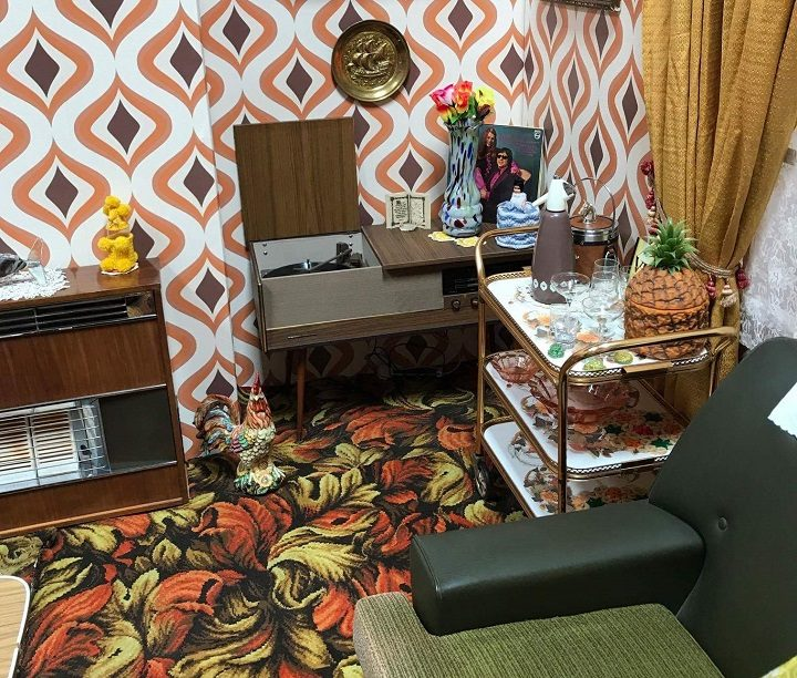surprising 1960s sitcom living room | Why there's a 1960s living room re-created in the Harris ...