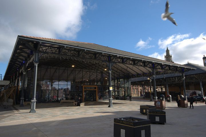 The Preston Market building - which has won architectural awards Pic: Tony Worrall