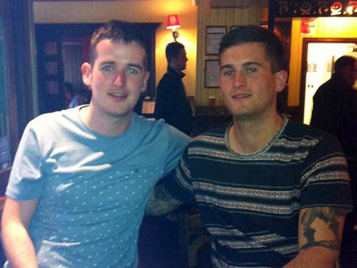 Brothers Craig and John McDougall