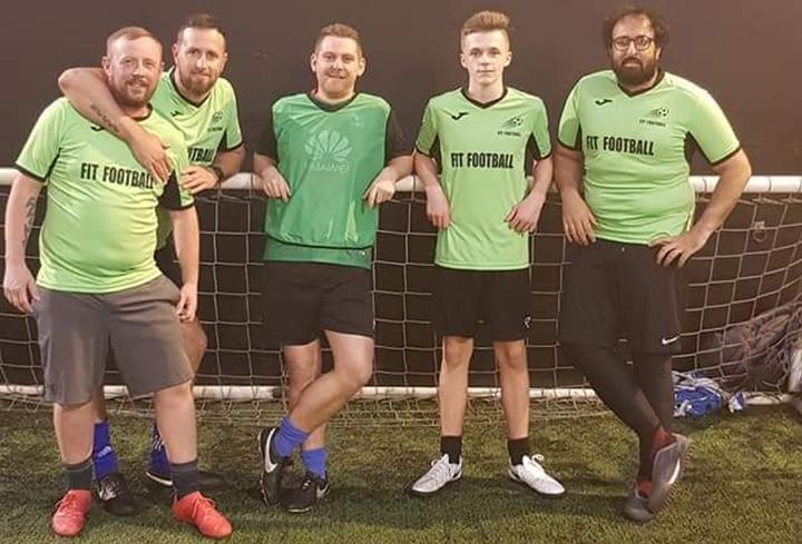 Fit Football team