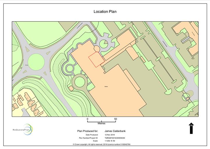 The Transform Hub location plan