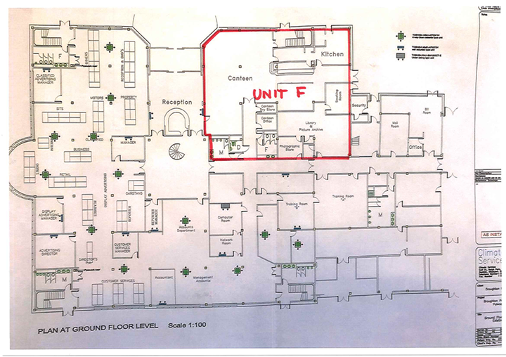 The Transform Hub plan at ground floor level