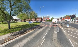The crash took place at the junction of Pedders Lane and Blackpool Road Pic: Google