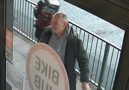 Police want to speak to this man in connection with both incidents
