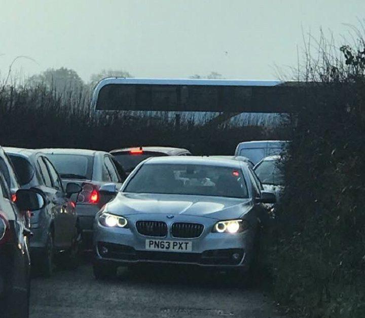Brabiner Way congestion Pic: Helen Mangan