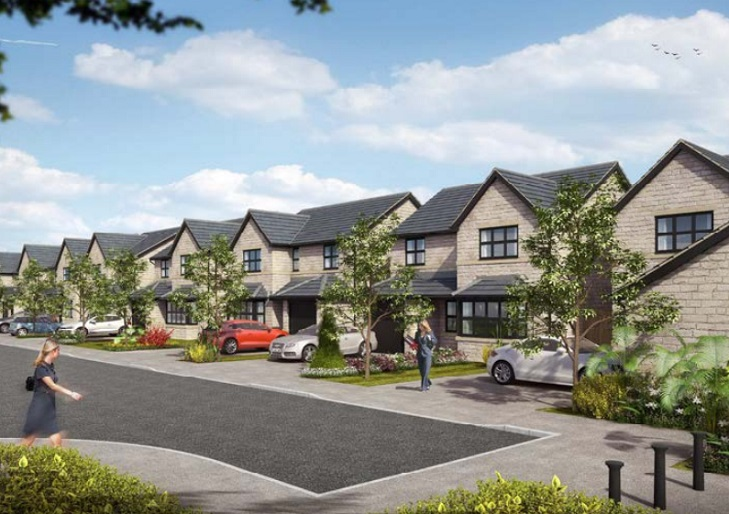 These style of homes could be built at Broughton
