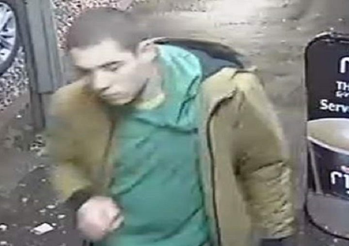 Police want to speak to this man in connection with the two incidents