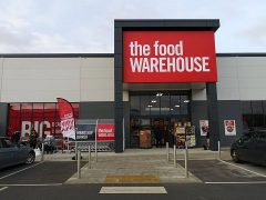 The Food Warehouse in Queen Street retail park Pic: Benny Mc'Nally