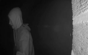 A CCTV picture released from the camera on the couple's Fulwood home