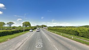 A section of the former A6 would become bus lane under the plans Pic: Google