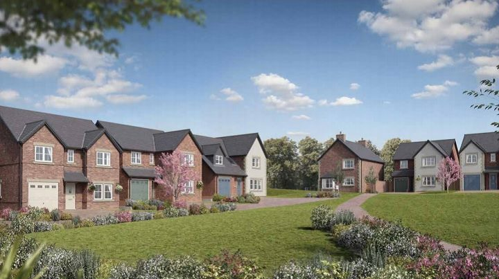 How part of the new development may look in Grimsargh
