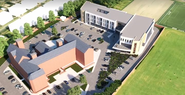 The new healthcare centre proposed just off Garstang Road