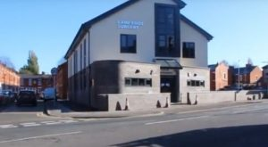 The new surgery building in Tulketh Brow