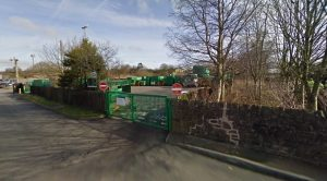 The recycling centre in Longridge Pic: Google