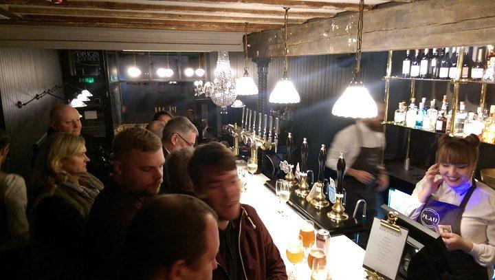 The main bar at Plau Pic: Blog Preston