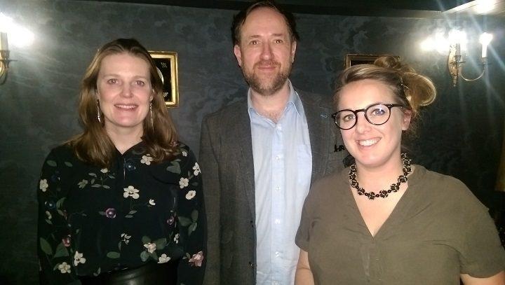 Nicola, Jeremy and Rebecca in Plau bar Pic: Blog Preston