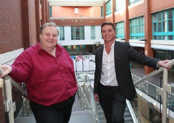 Simon Rigby and Rick Simkin