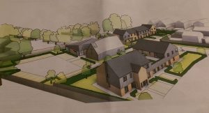An artist impression of how the new St Martin's may look