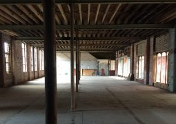 Inside part of the former warehouse in Guildhall Street