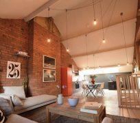 Inside the Union Lofts show apartment
