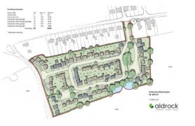 The plans for Whittingham Lane