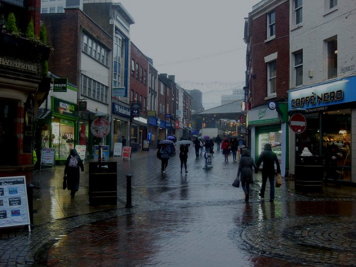 A wet day in Orchard Street Pic: 70023venus2009