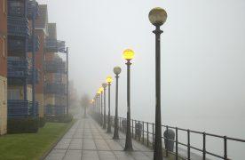 A foggy Preston Marina Pic: Tony Worrall