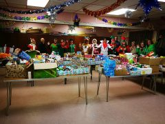 Gregson Green's foodbank collection from last year