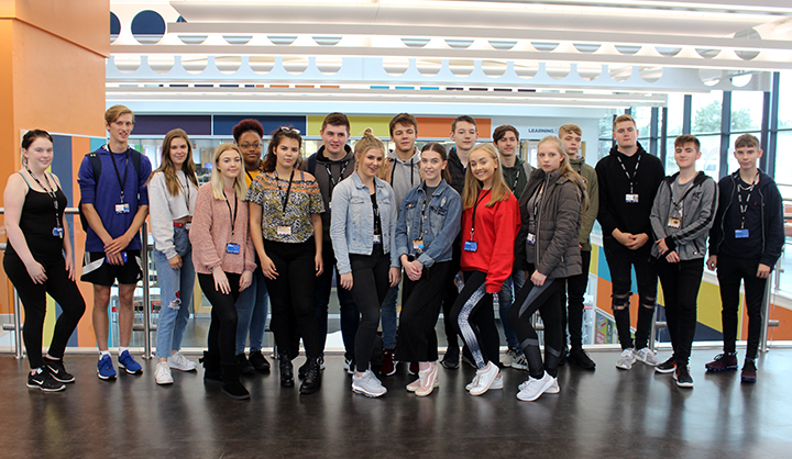 Level 3 Gifted and Scholarship learners at Preston's College