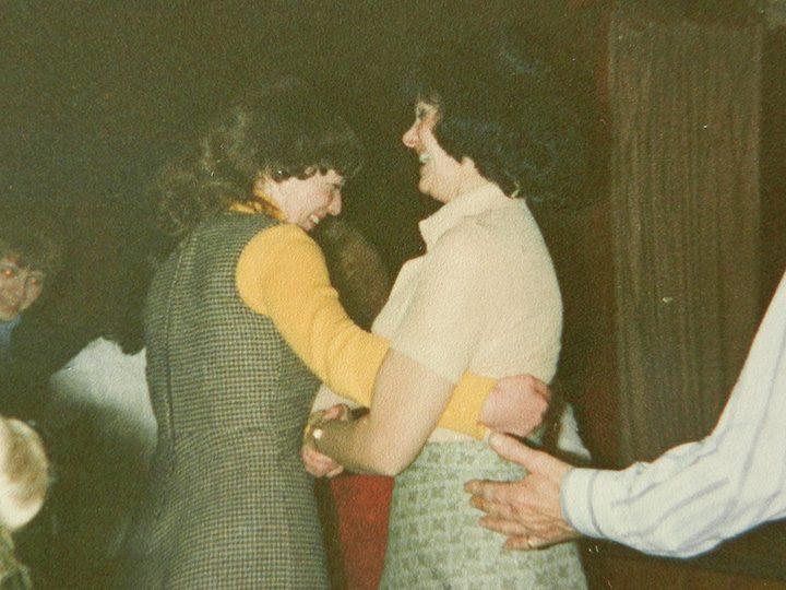 St Joseph's Social Club in 1977 Pic: Dez Gunson