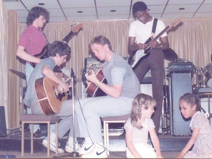 St Joseph's Social Club 1985 - pic Mick Gunson