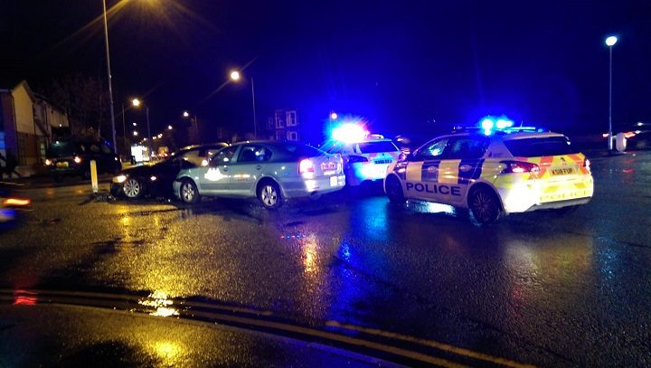 The scene in Garstang Road at the Watling Street Road/Lytham Road crossroads Pic: Blog Preston