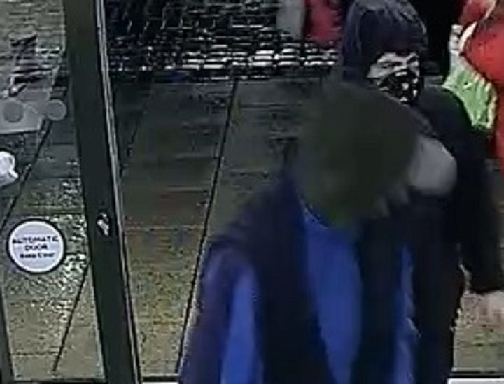 The second man can be seen more clearly in this CCTV picture