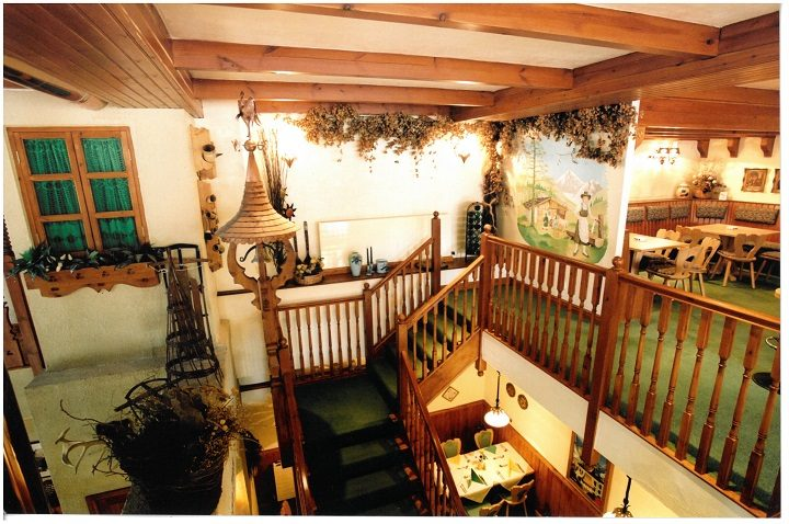 Inside what was the Alpenhof restaurant in Cross Street Pic: Catrina King/Society1