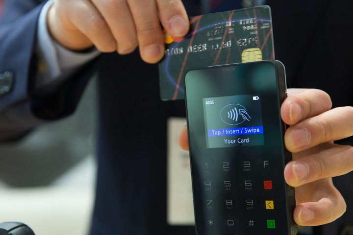 Contactless has become a standard way to pay in the UK Pic: AhmadArdity