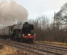The Flying Scotsman at Brindle Pic: Rachel Smith
