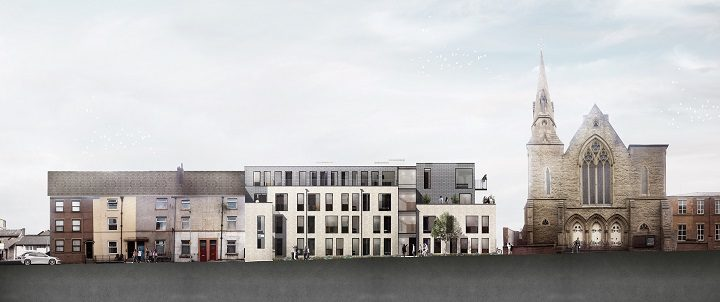 How the new flats are due to look in Grimshaw Street