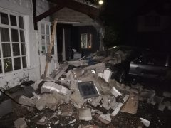 Damage to the Thai restaurant in Longridge Pic: James Robert