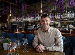 Dean Wilson, director of Olive Tree Brasserie
