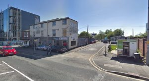 The arson investigation is centred in Stocks Street, off Fylde Road Pic: Google