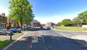 Watling Street Road was shut while emergency services cleared the vehicles Pic: Google