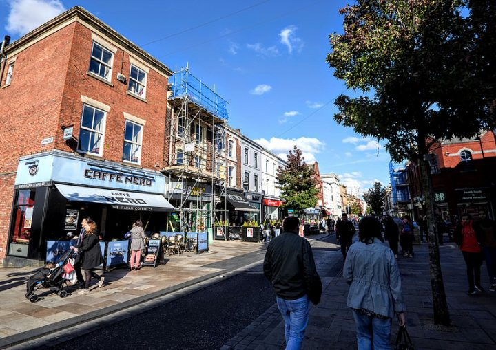 Fishergate received a lift in rating, with 52 per cent saying it was a 'better place to be', up 10 per cent on last year Pic: Tony Worrall