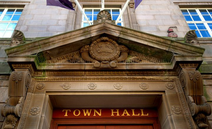 Preston's Town Hall - could it govern its own independent state? Pic: Tony Worrall